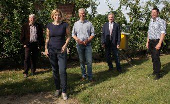 Landwirtschaftsministerin besucht Willich und den Obsthof Mertens